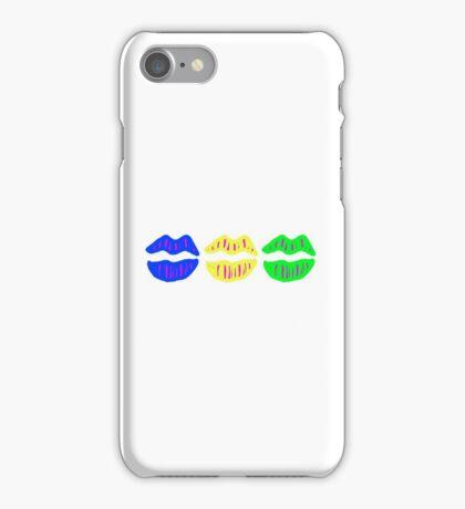 Lips (Neon) iPhone Case/Skin