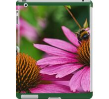 Two bumble bees iPad Case/Skin