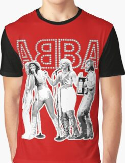Wonderful ABBA LIVE exclusive design (Australia 77') Graphic T-Shirt