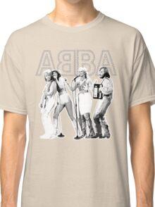 Wonderful ABBA LIVE exclusive design (Australia 77') Classic T-Shirt