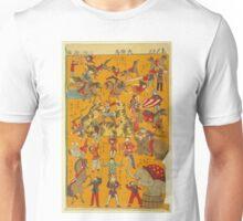 Anonymous - Big Circus - 1871 - Woodcut Unisex T-Shirt