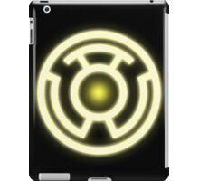 YELLOW LANTERN - FEAR! iPad Case/Skin