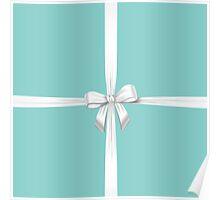 Blue Ribbon Gift Poster