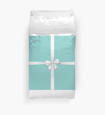 Blue Ribbon Gift Duvet Cover