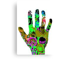 Busy Hands Canvas Print