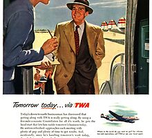 Old TWA Advirtisement by bassdmk
