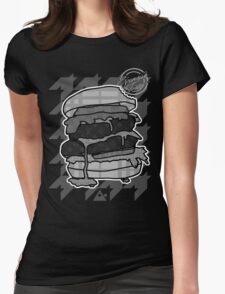 GlamBurger B&W Womens Fitted T-Shirt