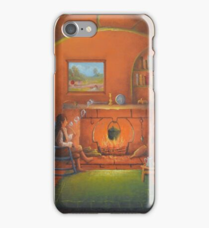 A Comfortable Hole! iPhone Case/Skin