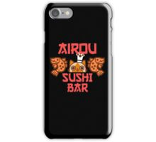 Airou sushi bar - Monster hunter iPhone Case/Skin