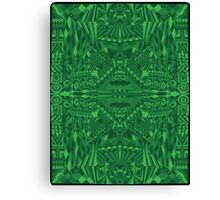 Green Illusion Canvas Print