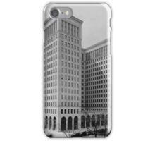 General Motors Building - Detroit, Michigan, 1921 iPhone Case/Skin
