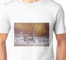 Yuletide (A Wizard Bearing Gifts) Unisex T-Shirt