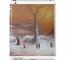 Yuletide (A Wizard Bearing Gifts) iPad Case/Skin