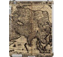 Map Of Asia 1630 iPad Case/Skin