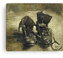 Vincent Van Gogh - Shoes 1887  Canvas Print