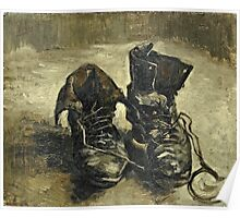 Vincent Van Gogh - Shoes 1887  Poster