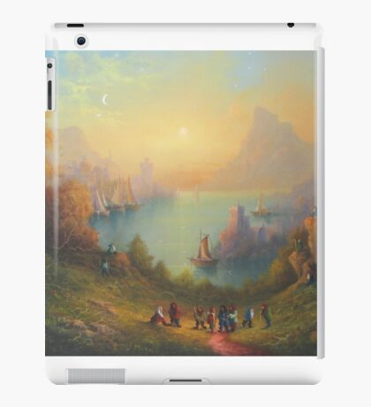 The Town On The Lake iPad Case/Skin