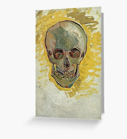 Vincent Van Gogh - Skull  Greeting Card