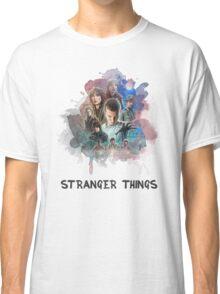 Stranger Things - Canvas Classic T-Shirt