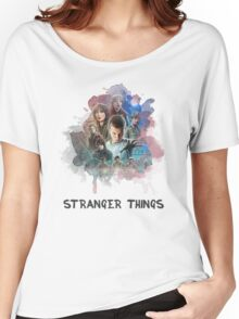 Stranger Things - Canvas Women's Relaxed Fit T-Shirt