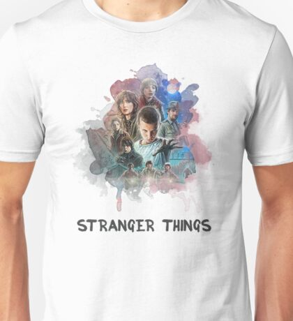 Stranger Things - Canvas Unisex T-Shirt