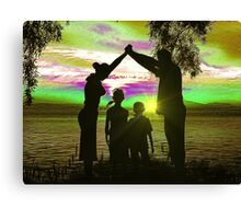 Family Ties Canvas Print