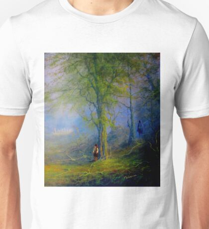 Encounter In The woods Unisex T-Shirt
