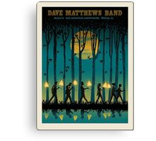 DAVE MATTEWS BAND OAK MOUNTAIN AMPHITHEATRE PELHAM AL. Canvas Print