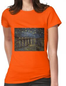 Vincent Van Gogh - Starry Night, 1888  Womens Fitted T-Shirt