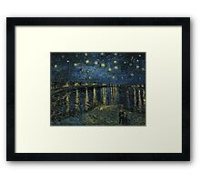 Vincent Van Gogh - Starry Night, 1888  Framed Print