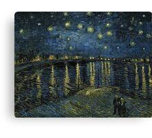 Vincent Van Gogh - Starry Night, 1888  Canvas Print