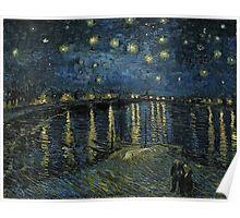 Vincent Van Gogh - Starry Night, 1888  Poster