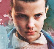 Eleven - Stranger Things - Canvas Sticker
