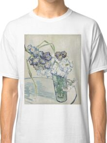 Vincent Van Gogh - Still Life Glass With Carnations, 1890 Classic T-Shirt