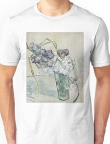 Vincent Van Gogh - Still Life Glass With Carnations, 1890 Unisex T-Shirt