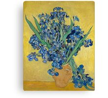 Vincent Van Gogh - Still Life With Irises, 1890 Canvas Print