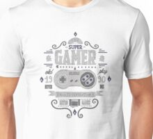 Gamer 16 bits generation Unisex T-Shirt