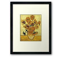 Vincent Van Gogh - Sunflowers 1888  Framed Print
