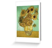 Vincent Van Gogh - Sunflowers 1888 Greeting Card
