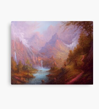 A Treacherous Guide. Canvas Print
