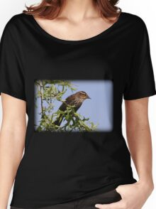 Mrs. Red-Winged Blackbird Women's Relaxed Fit T-Shirt