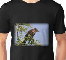 Mrs. Red-Winged Blackbird Unisex T-Shirt
