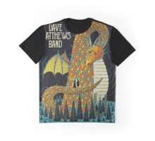 DAVE MATTEWS BAND SUMMER TOUR 2016 - POSTER - SARATOGA SPRINGS, NY Graphic T-Shirt
