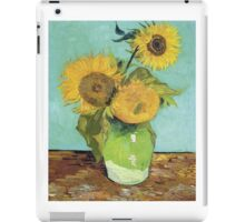 Vincent Van Gogh - Sunflowers, 1888 iPad Case/Skin