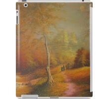 The Golden Woods. iPad Case/Skin