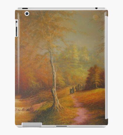 The Golden Woods. iPad Case/Skin