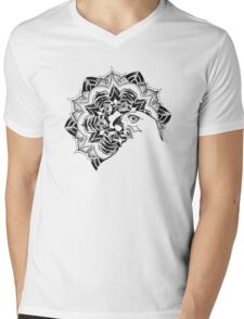flower eagle eyes Mens V-Neck T-Shirt