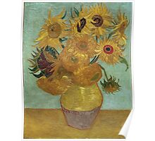 Vincent Van Gogh - Sunflowers, 1889 Poster