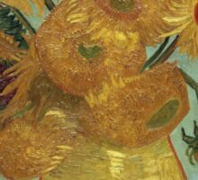 Vincent Van Gogh - Sunflowers, 1889 Sticker