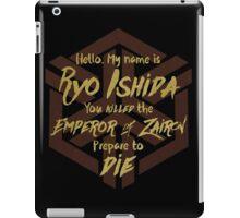 Prepare to die - Zairon Symbol Edition iPad Case/Skin